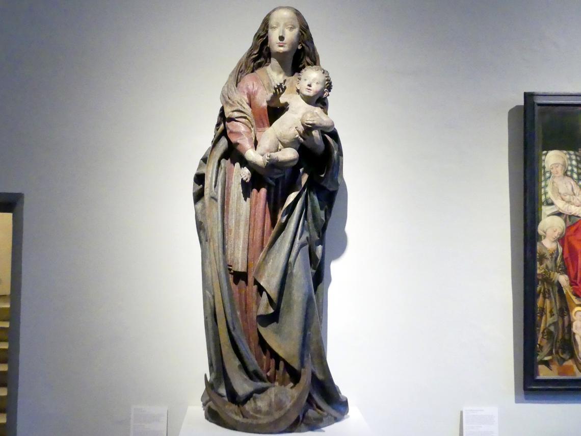 Michel Erhart: Maria mit Kind, Um 1494