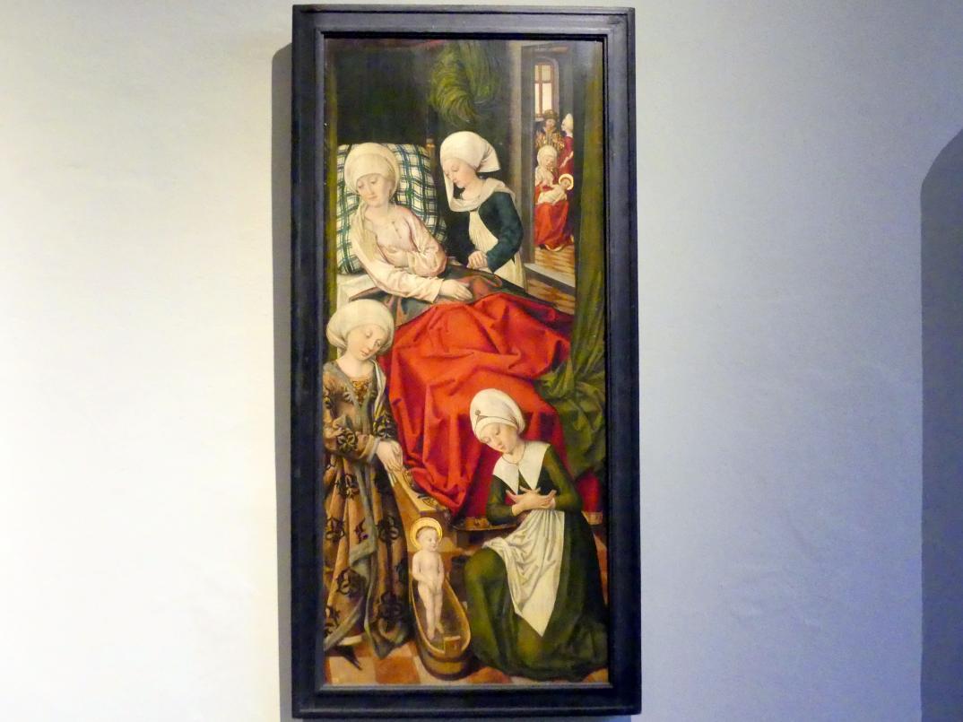 Hans Traut: Das erste Wunder des hl. Niklaus, Um 1485