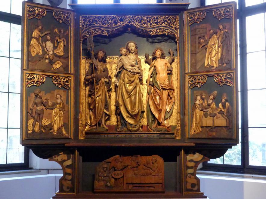 Tilman Riemenschneider (Werkstatt): Retabel aus der Johanniskapelle von Gerolzhofen, 1513 - 1519