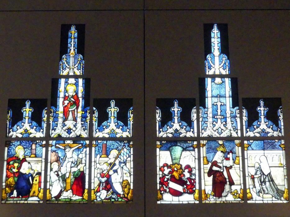Chorfenster aus der Kartause Prüll, vor 1513