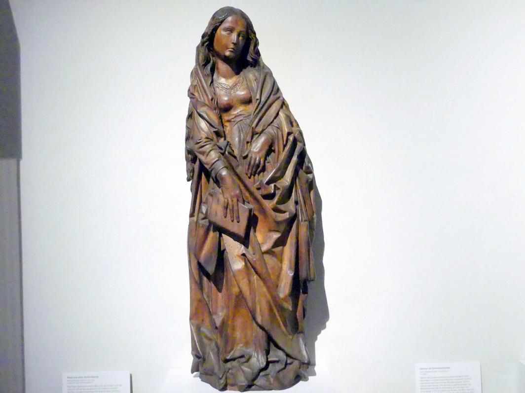 Tilman Riemenschneider (Umkreis): Maria aus einer Verkündigung, nach 1500