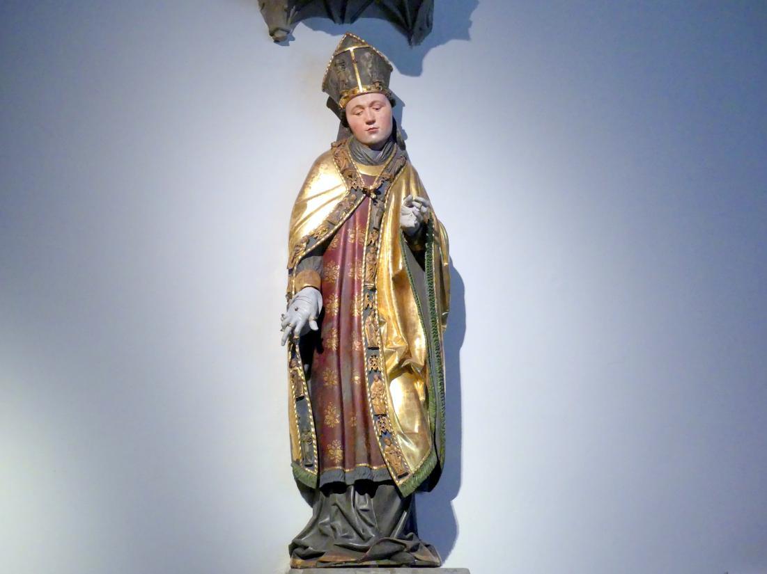 Hl. Bischof oder Abt, Um 1510