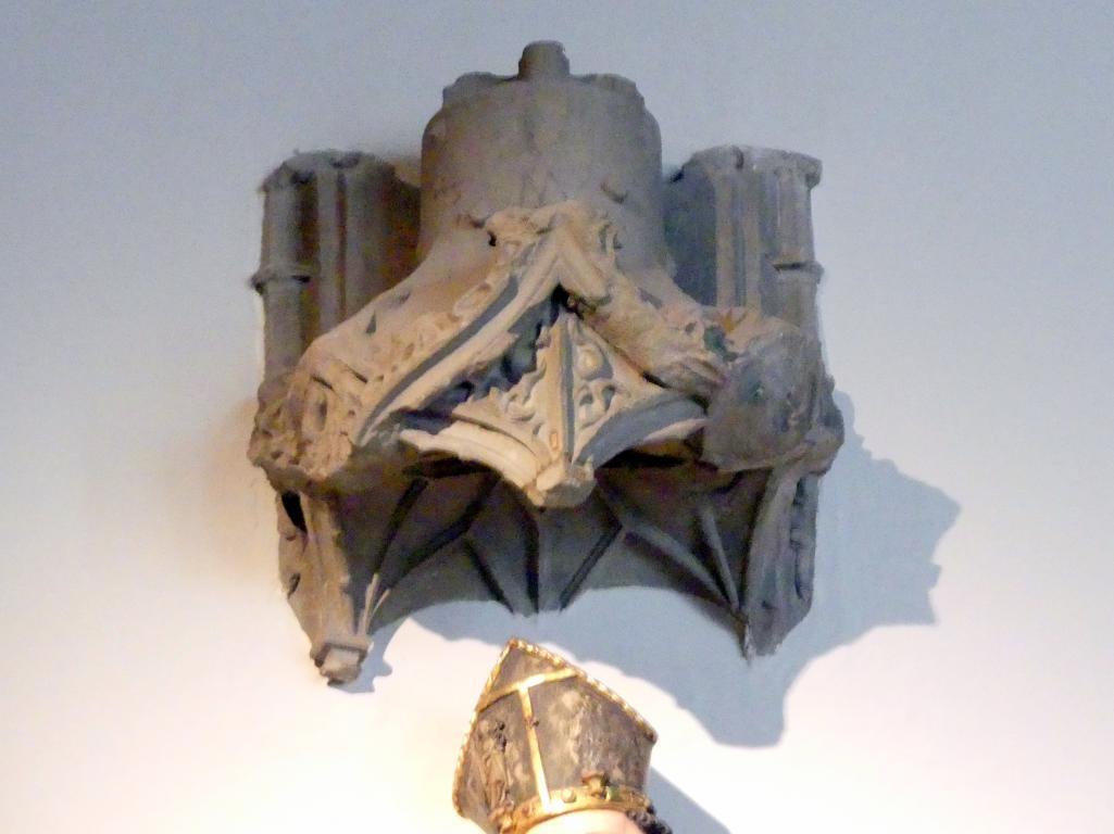 Tilman Riemenschneider: Fragment eines Baldachins von der Südfassade der Marienkapelle in Würzburg, 1491 - 1492