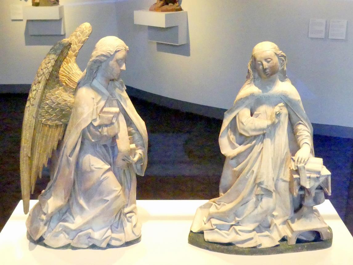 Engel und Maria der Verkündigung, 1484