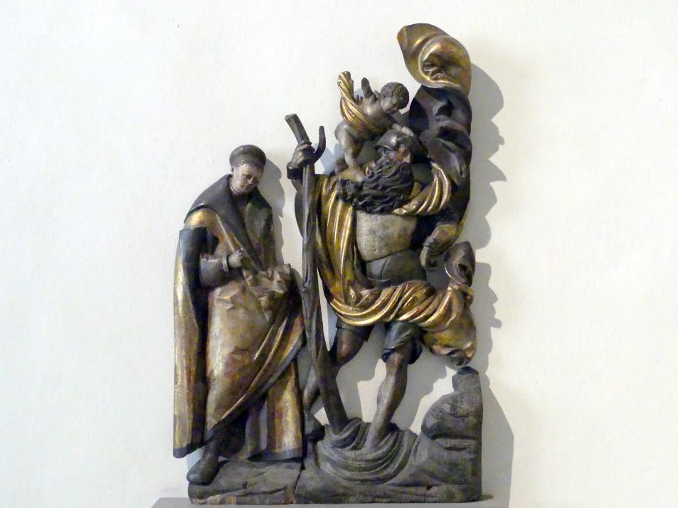 Jörg Lederer: Die hll. Sebastian und Christophorus, Um 1520