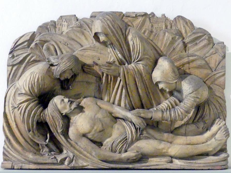 Meister von Ottobeuren: Beweinung Christi, um 1520