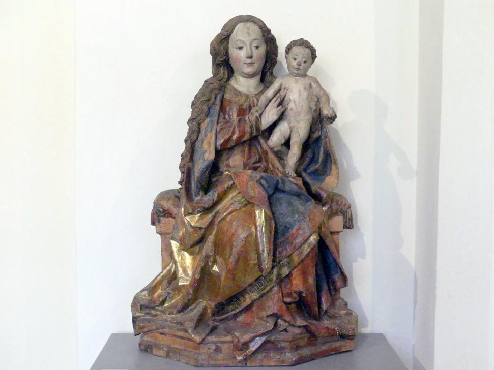 Maria mit Kind, Um 1500