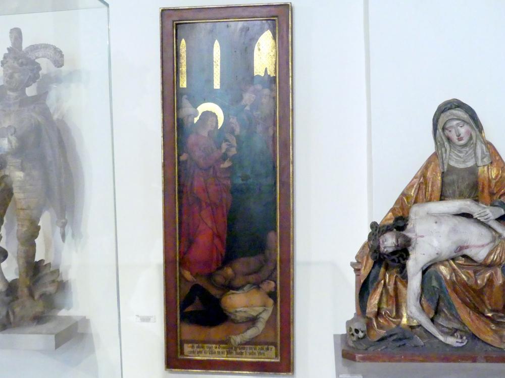 Bernhard Strigel: Martyrium des Heiligen Johannes Evangelist, Undatiert