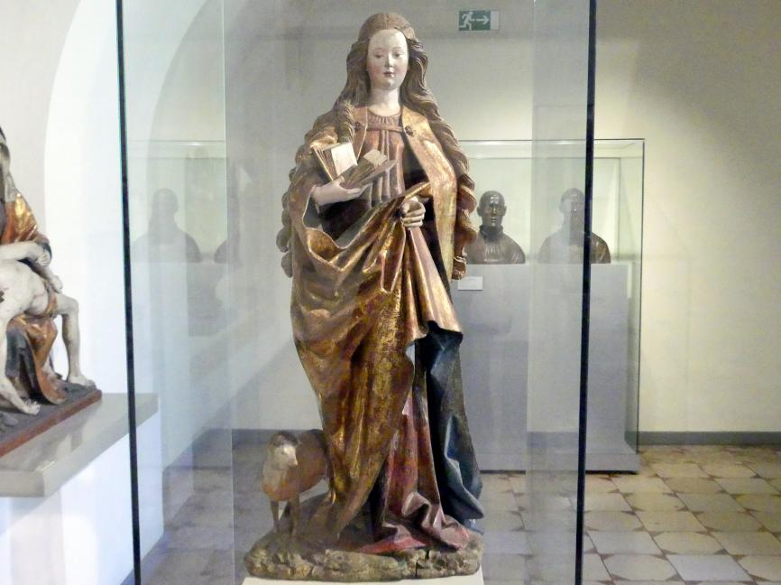 Hans Wydyz (Hans Weiditz): Heilige Agnes, 1480 - 1490