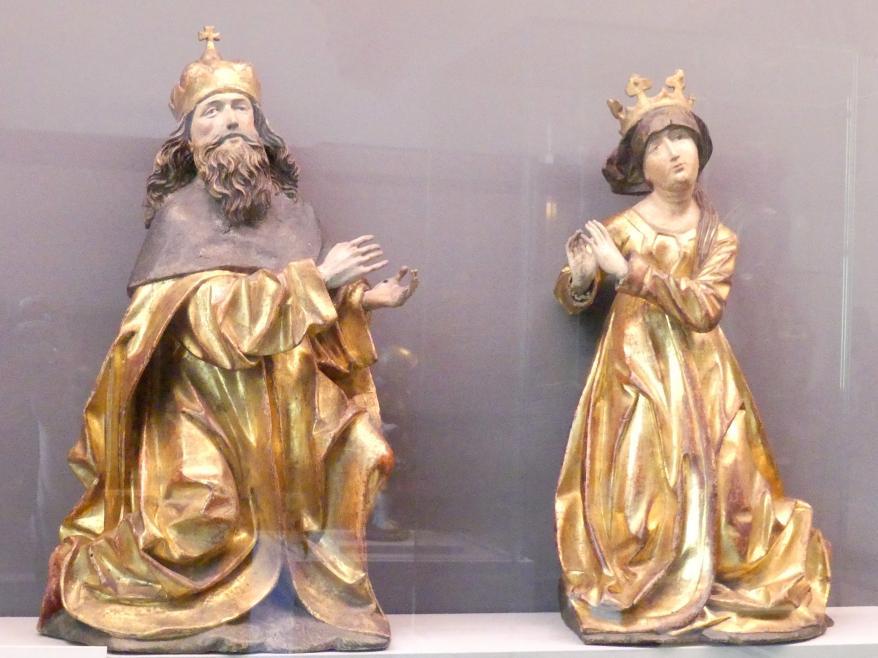 Markgraf Leopold III. der Heilige und seine Gemahlin Agnes als Stifter, Um 1505