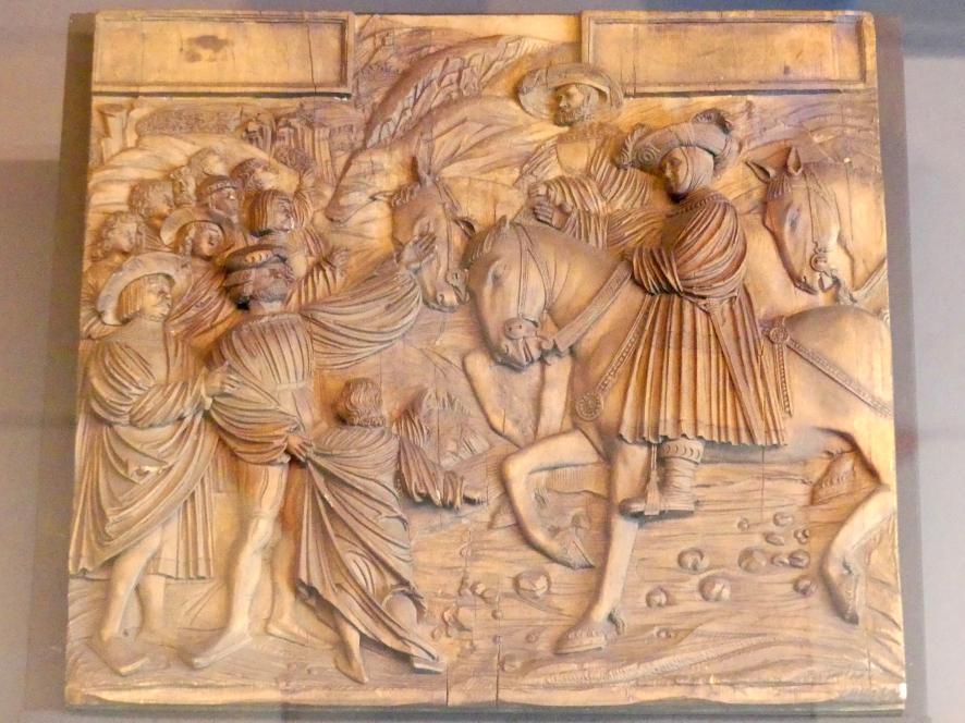 Meister von Ottobeuren: Joseph und seine Brüder, Um 1530