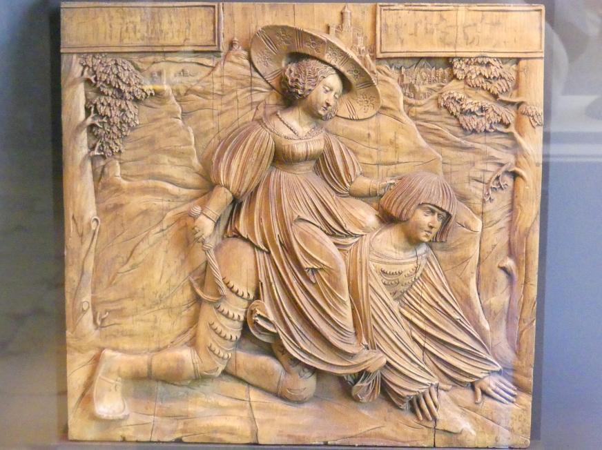 Meister von Ottobeuren: Aristoteles und Phyllis, Um 1523
