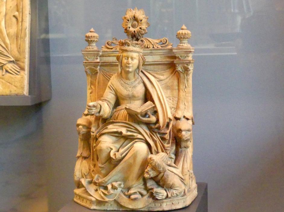 Endras Maurus: Thronende heilige Katharina, Undatiert, Bild 1/2