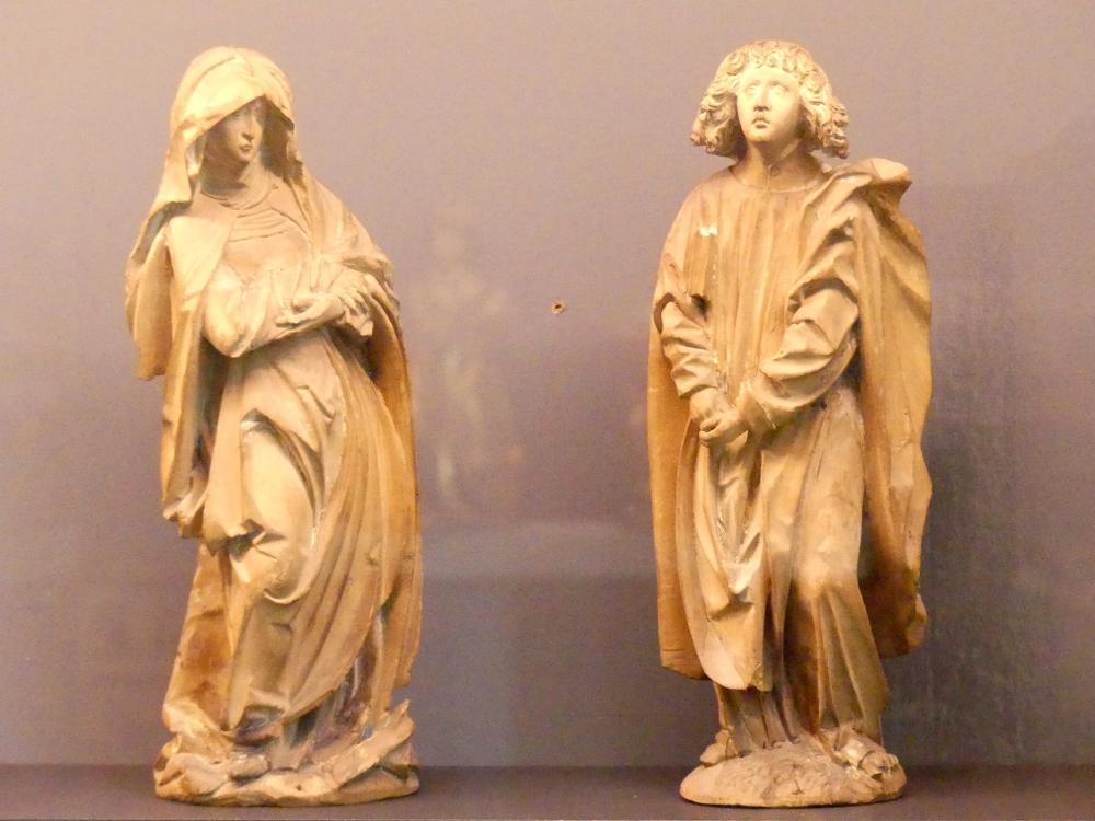 Maria und Johannes aus einer Kreuzigung, Um 1510
