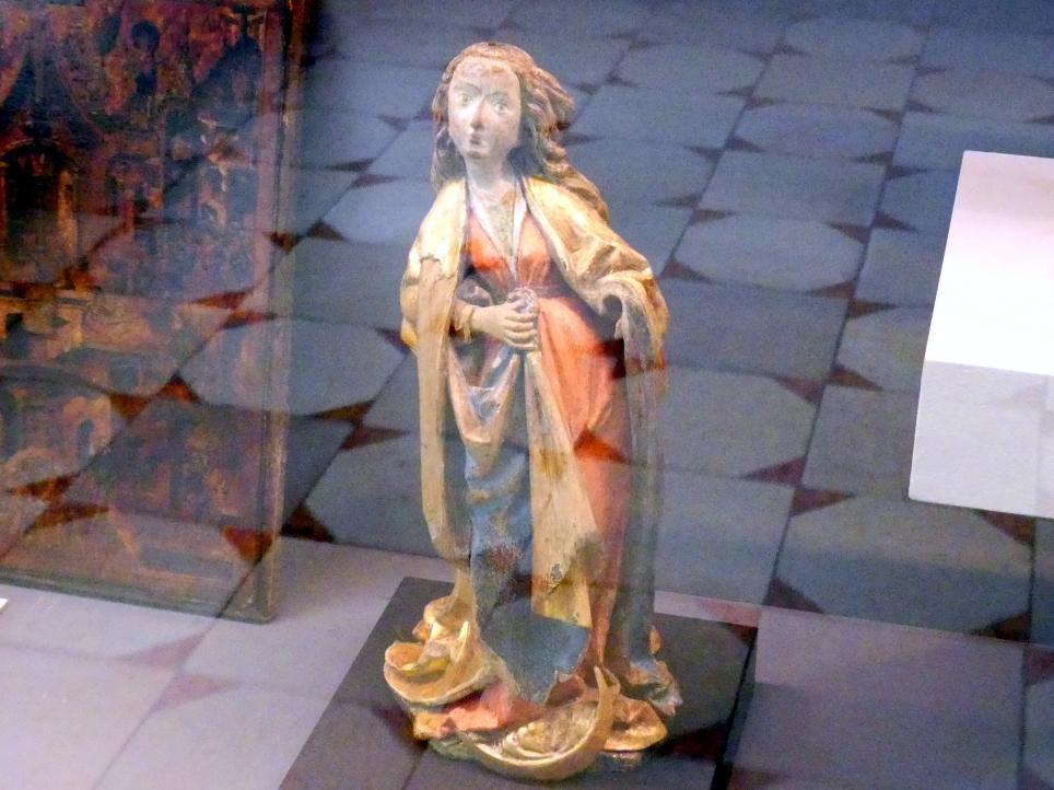 Maria auf der Mondsichel, Um 1490