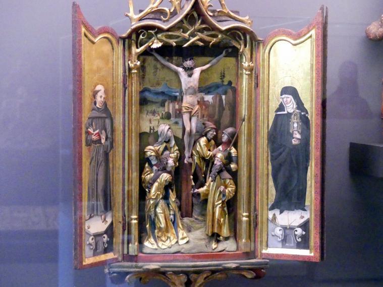 Erasmus Grasser: Monstranzaltärchen, um 1490, Bild 2/3
