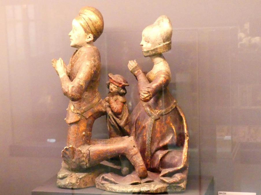 Ritterliche Gruppe, Um 1500 - 1510