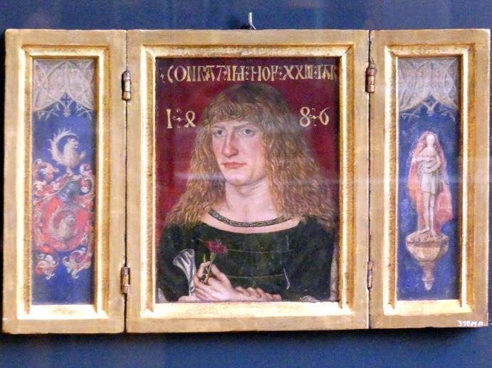 Jakob Elsner: Bildnis des Conrat Imhof, 1486