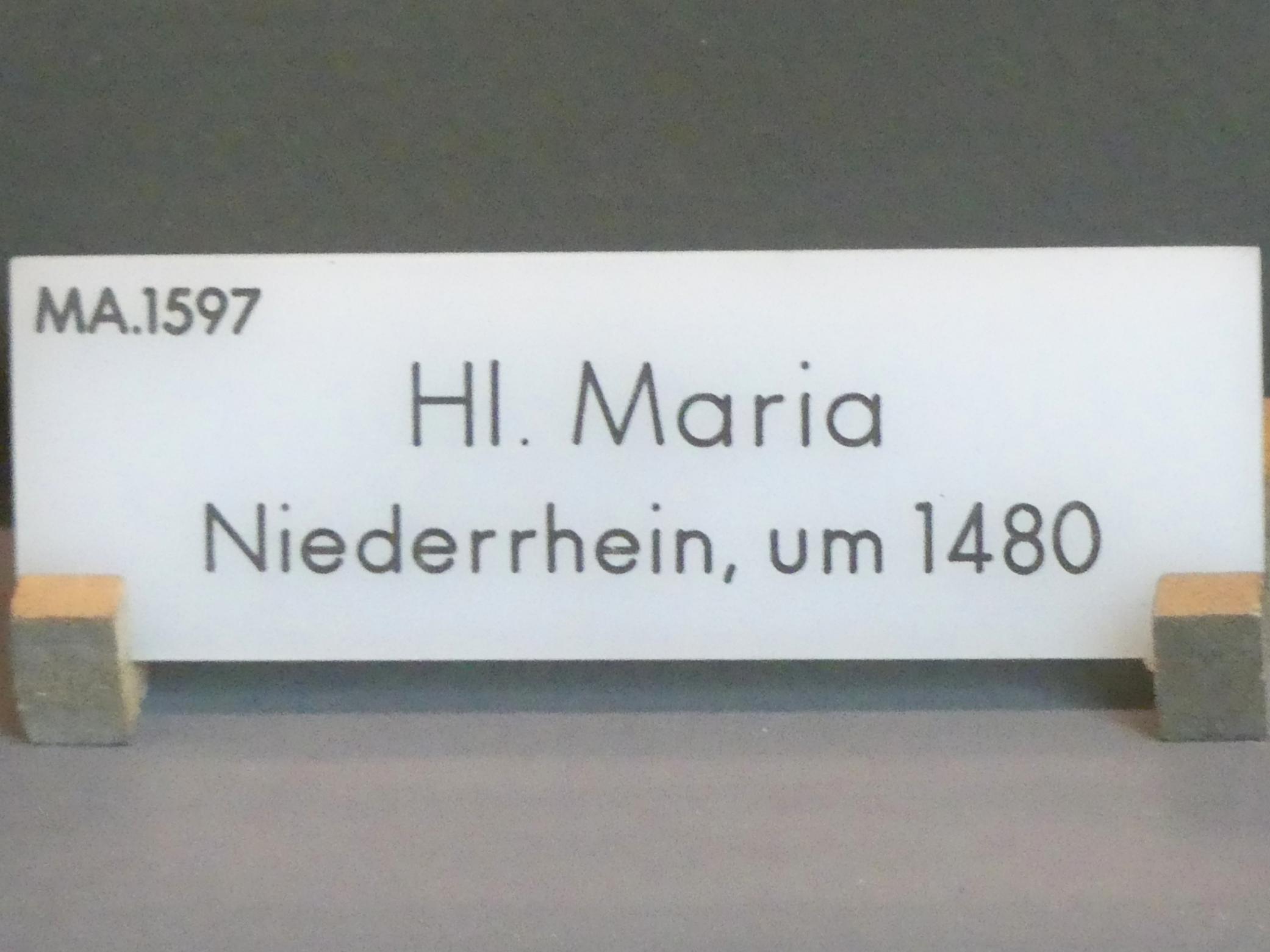 Hl. Maria, um 1480, Bild 3/3