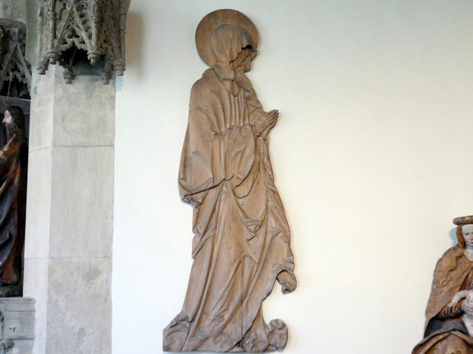 Hans Leinberger: Trauernde Maria aus einer Kreuzigung, um 1520