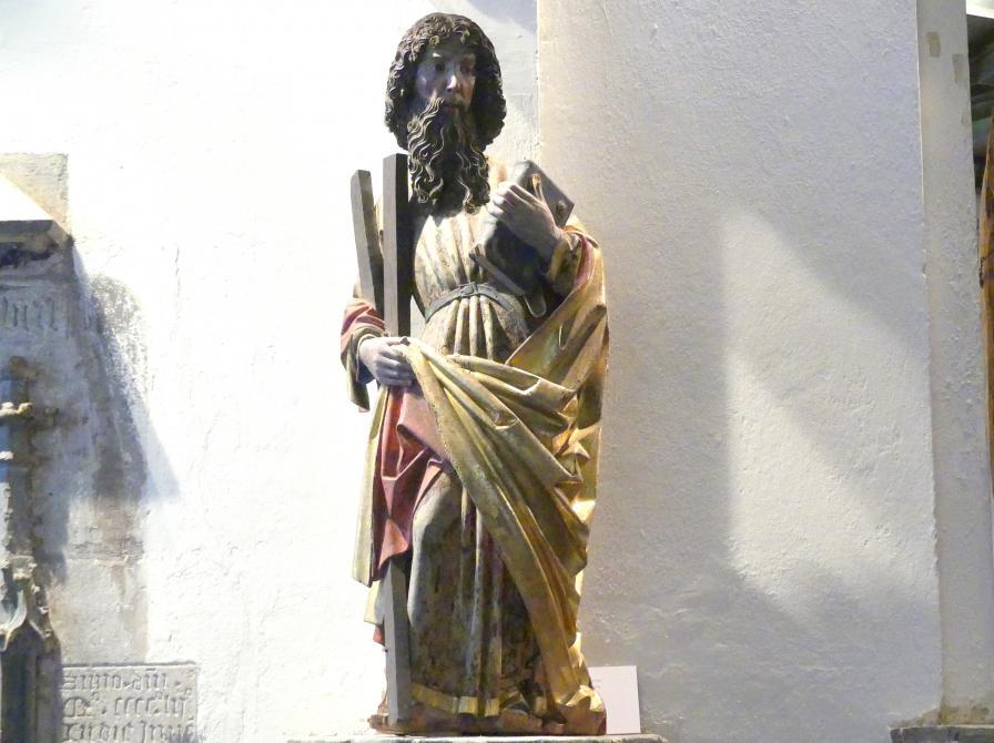 Meister des Imberger Altars: Hl. Andreas, um 1490