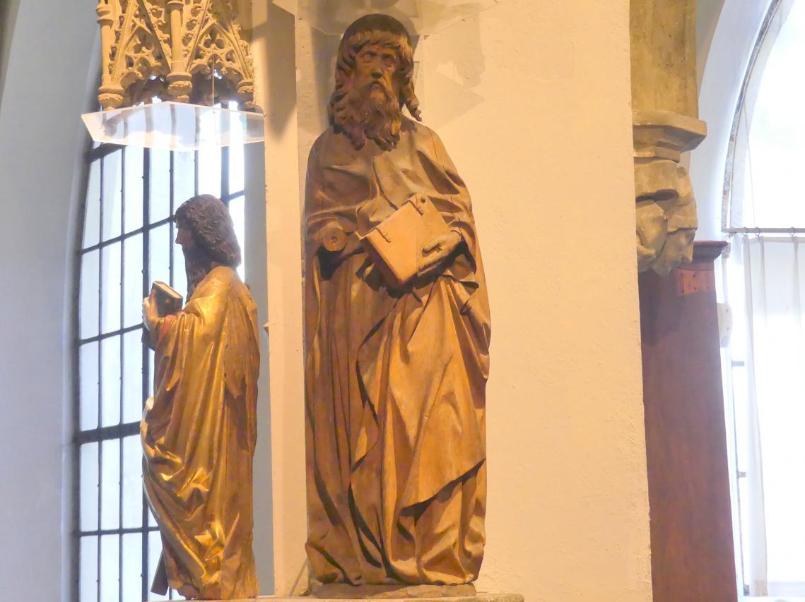 Meister der Blutenburger Apostel: Heiliger Bartholomäus, um 1490 - 1500