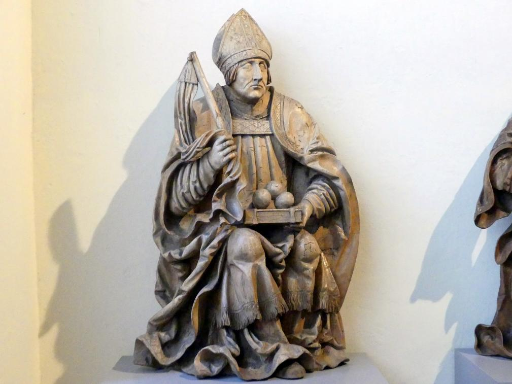 Meister der Altöttinger Türen (Matthäus Krinis?): Hl. Nikolaus, um 1520 - 1530