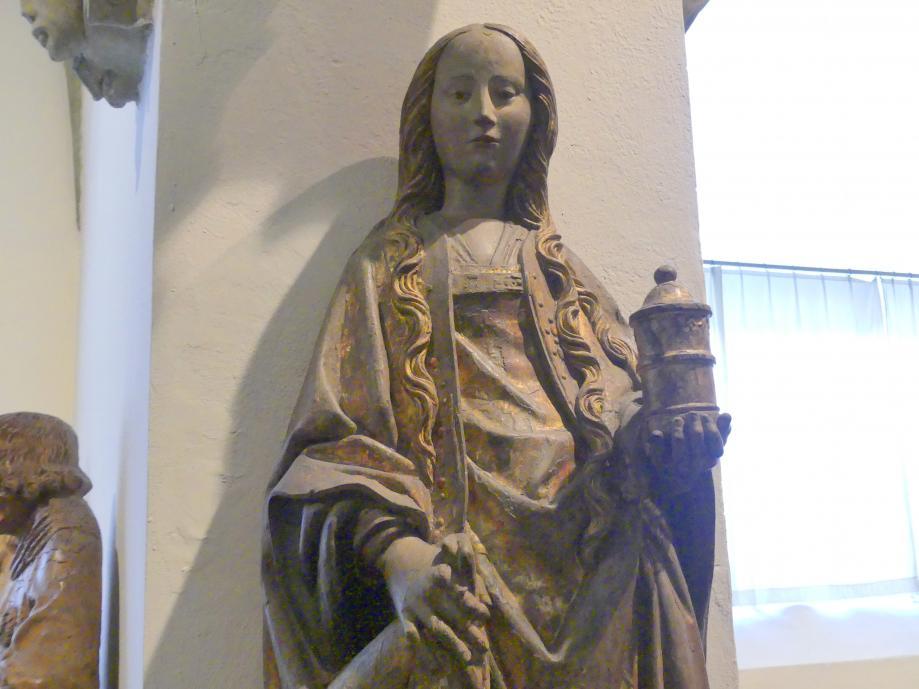 Heilige Jungfrau (Magdalena), um 1500, Bild 2/4