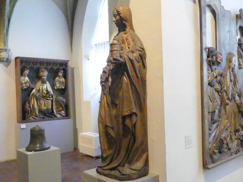Heilige Jungfrau (Magdalena), um 1500, Bild 3/4