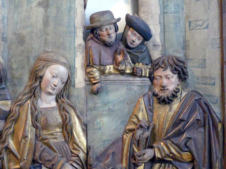 Nikolaus Weckmann (Werkstatt): Anbetung der Hirten, 1523 - 1524, Bild 2/3