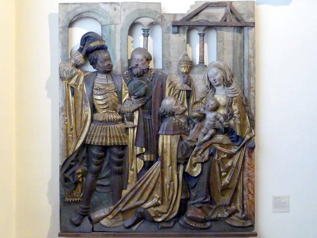 Nikolaus Weckmann (Werkstatt): Anbetung der Könige, 1523 - 1524