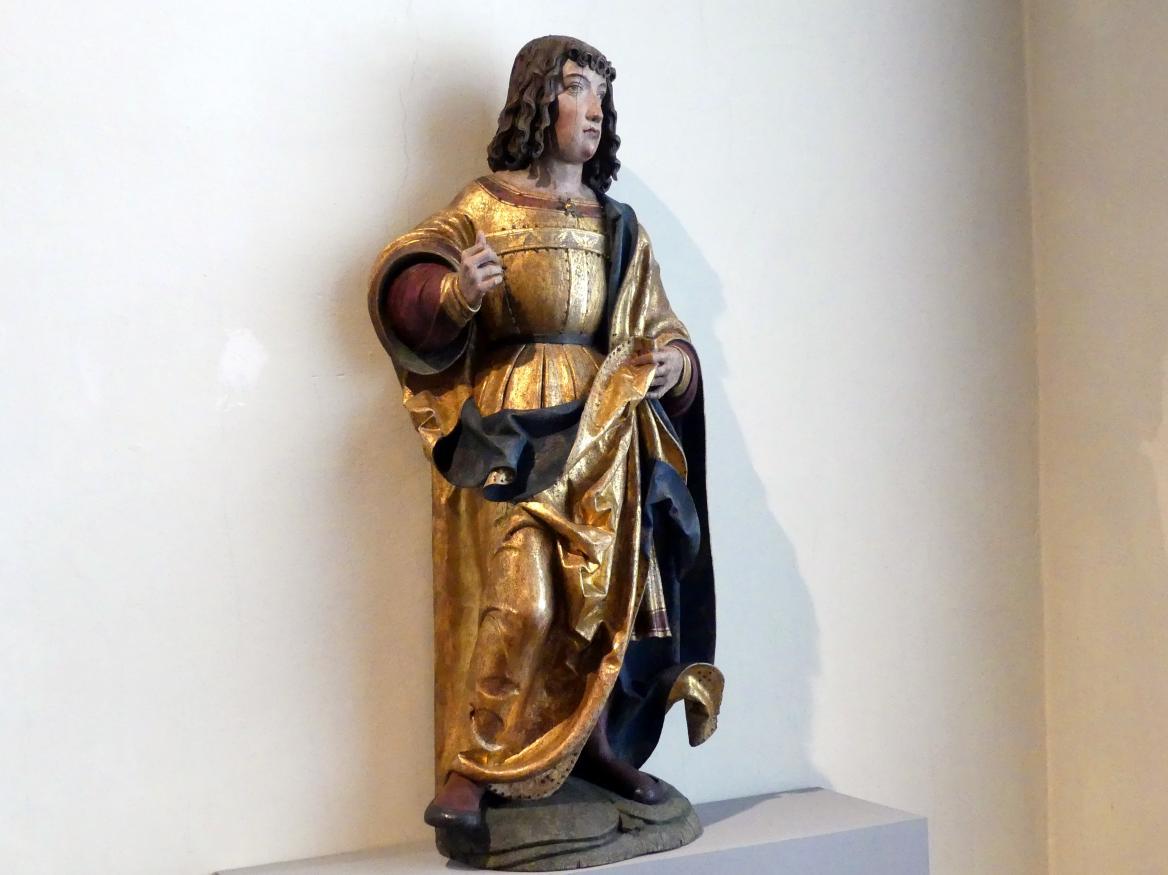 Meister von Rabenden: Hl. Sebastian (?), um 1510 - 1520, Bild 2/5