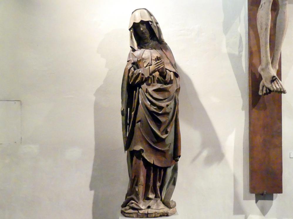 Heilige Maria von einer Kreuzigungsgruppe, um 1500 - 1510