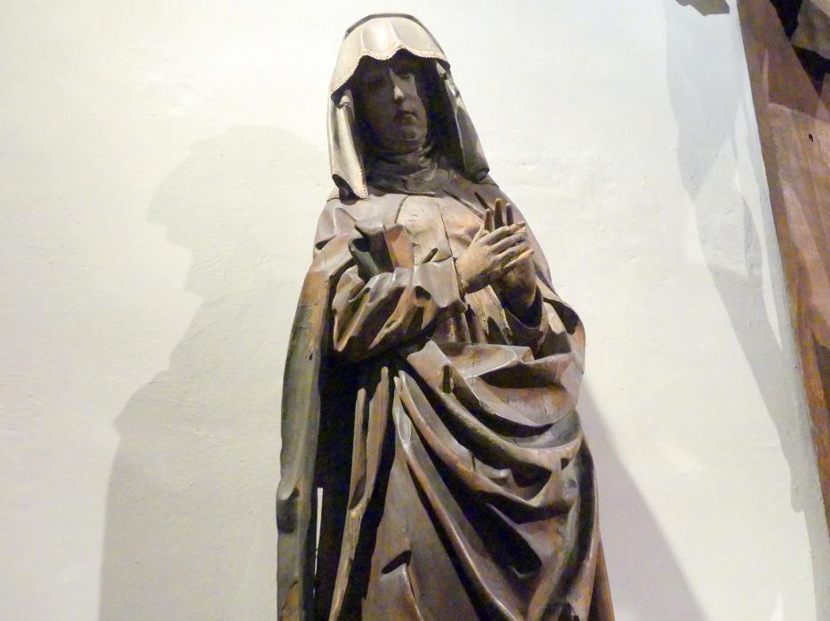 Heilige Maria von einer Kreuzigungsgruppe, um 1500 - 1510, Bild 2/3