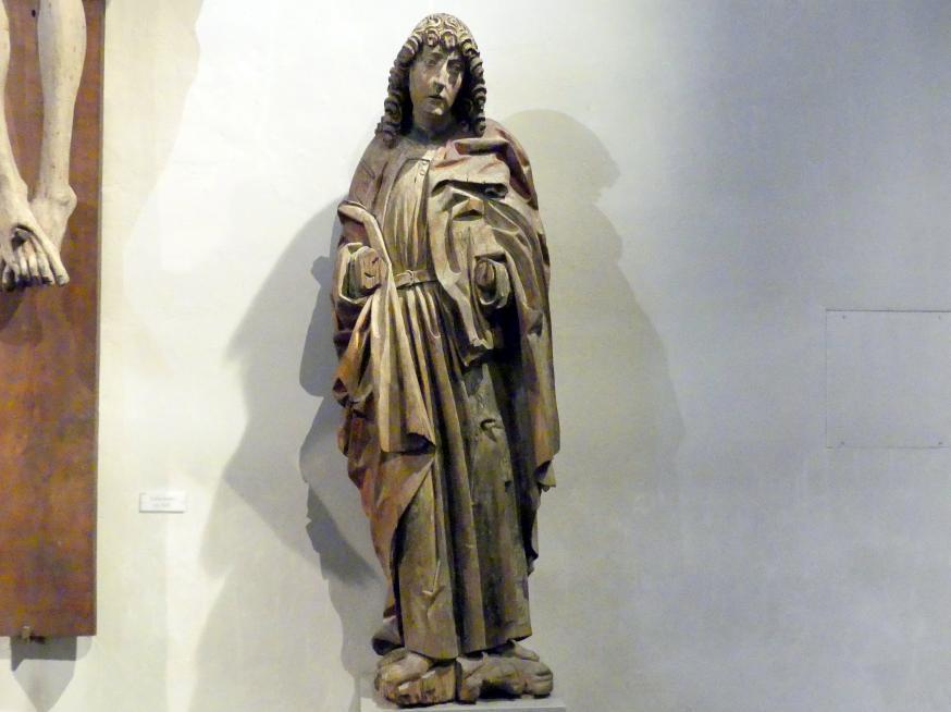 Heiliger Johannes von einer Kreuzigungsgruppe, um 1500 - 1510