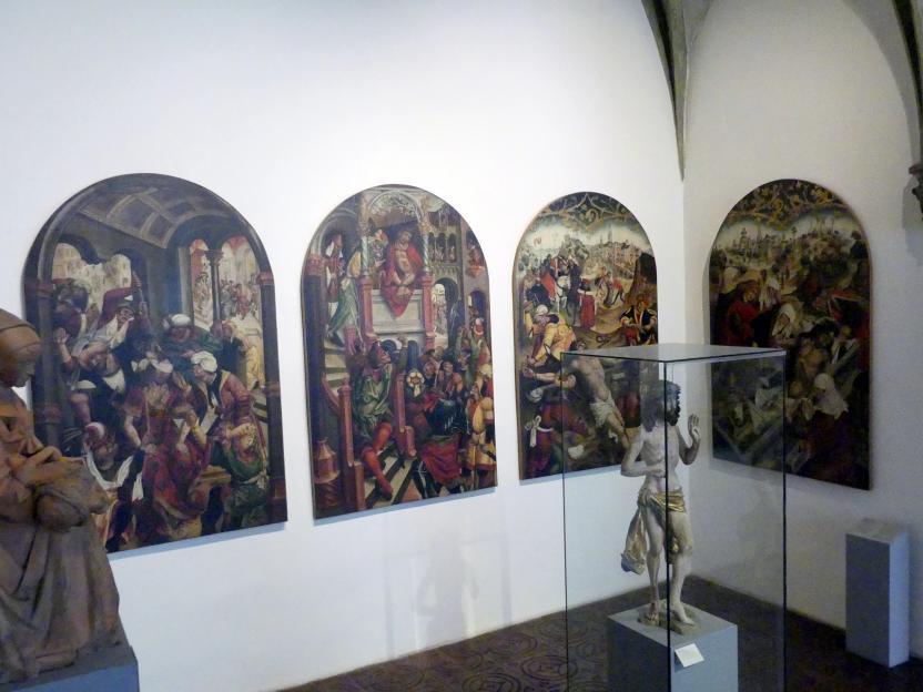Jan Polack: Altarflügel mit Passionsszenen, 1492
