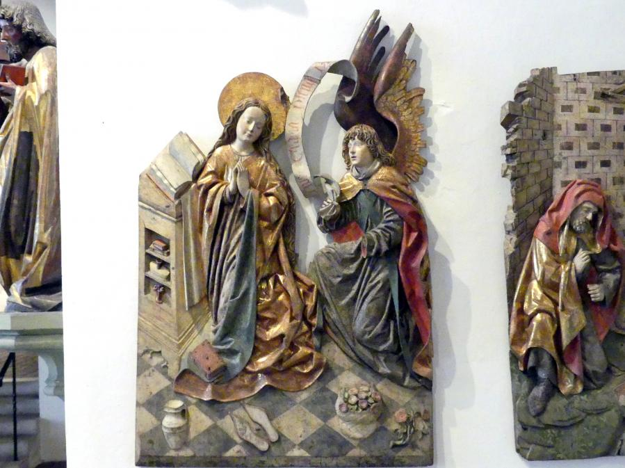 Mariä Verkündigung, um 1480 - 1490