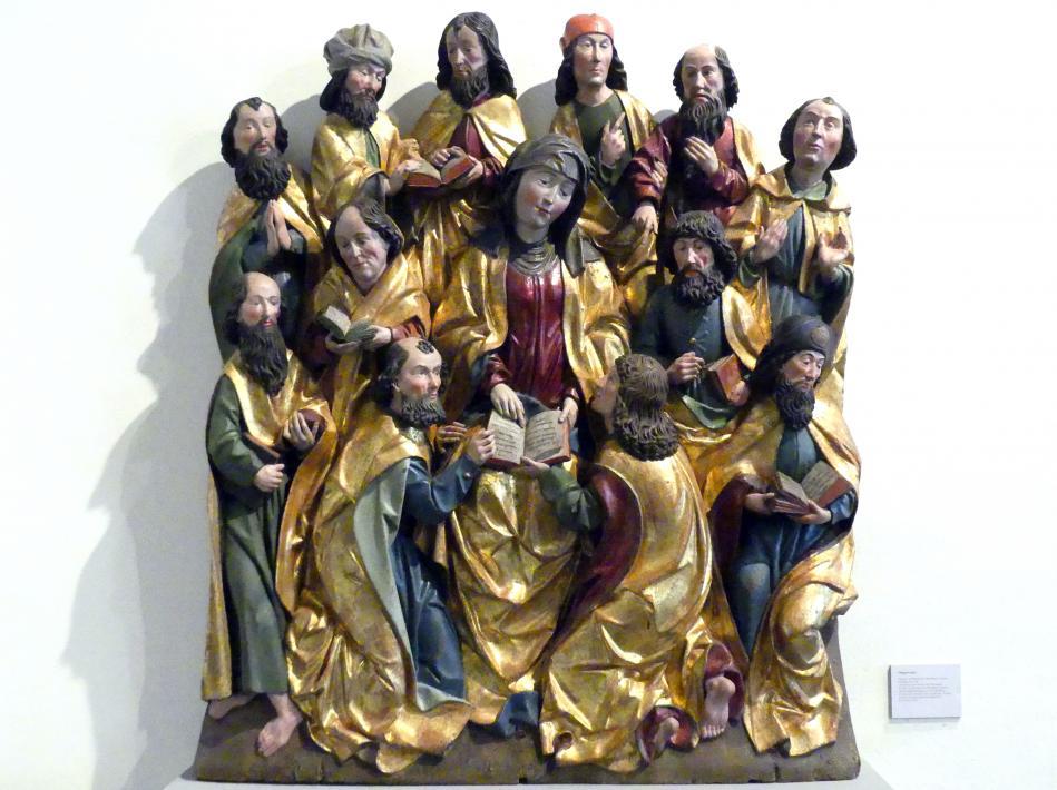 Meister der Blutenburger Apostel (Umkreis): Pfingstwunder, um 1500