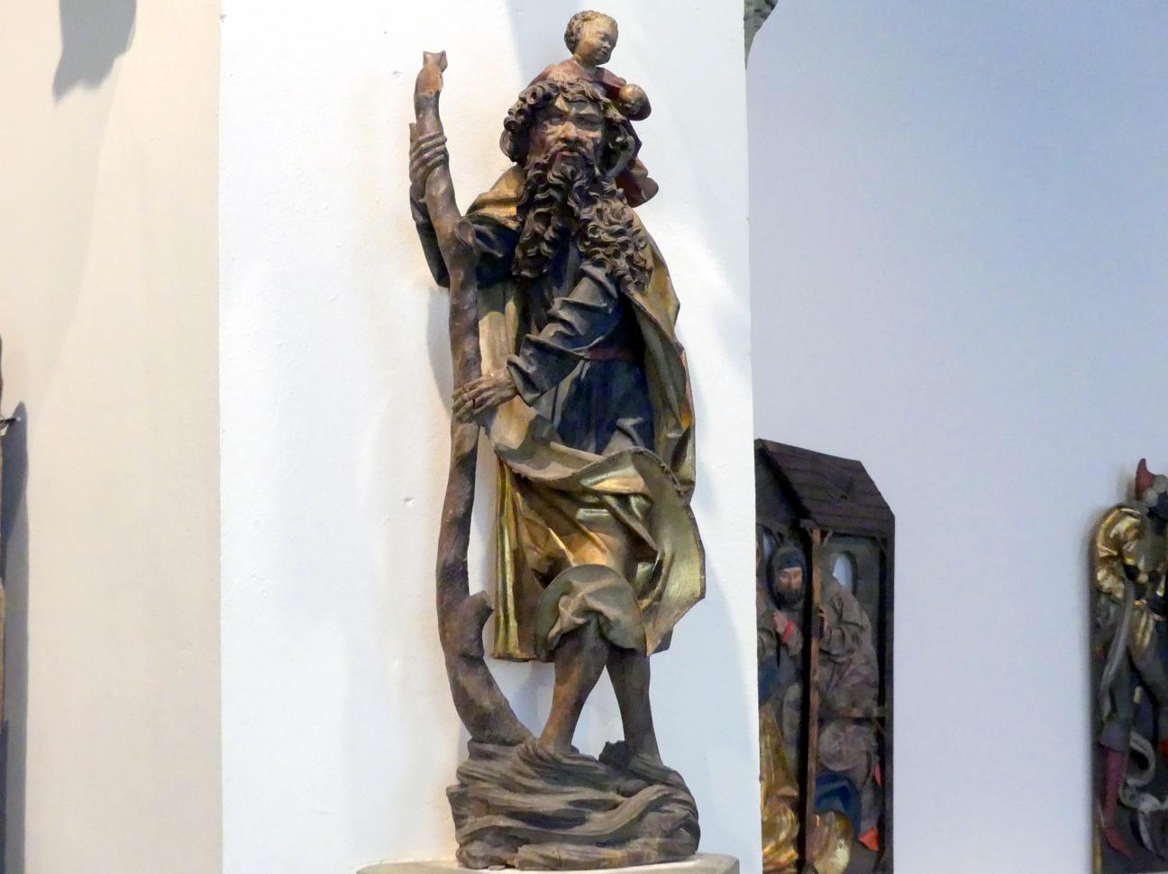 Hl. Christophorus, Um 1490 - 1500