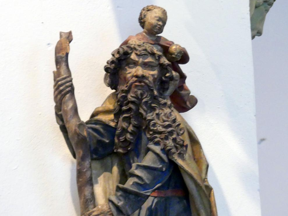 Hl. Christophorus, um 1490 - 1500, Bild 2/5
