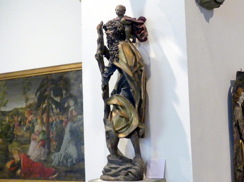 Hl. Christophorus, um 1490 - 1500, Bild 3/5