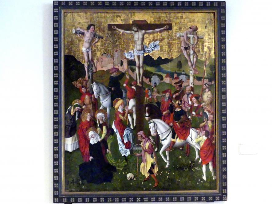 Sigmund Gleismüller: Kreuzigung Christi, um 1480