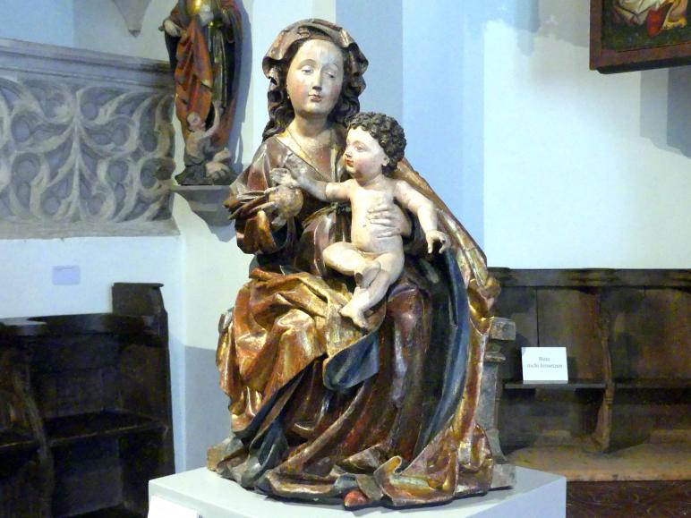 Maria mit Kind, Um 1490