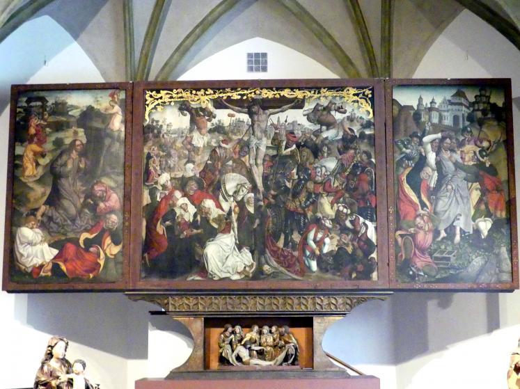 Jan Polack: Altarretabel mit Passionsszenen, 1492