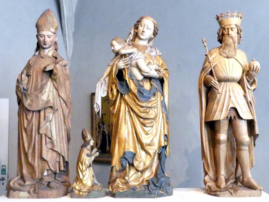 Jakob Kaschauer: Skulpturen vom Hochaltar des Domes zu Freising, 1443