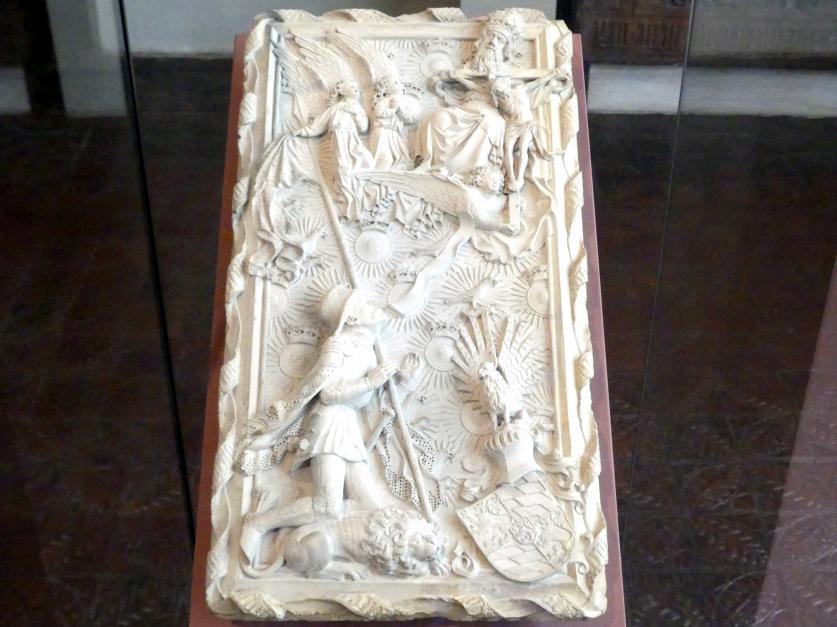 Hans Multscher: Modell eines geplanten Grabmals für Herzog Ludwig des Gebarteten von Bayern-Ingolstadt, 1430