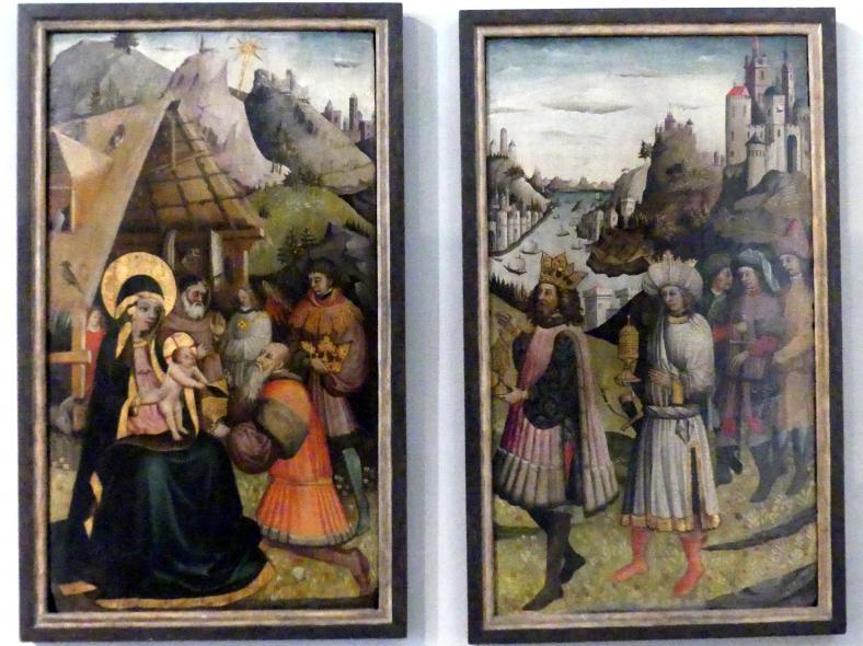 Anbetung der Heiligen Drei Könige, um 1430 - 1440