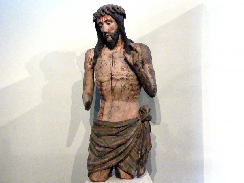 Christus als Schmerzensmann, Fragment, Um 1430