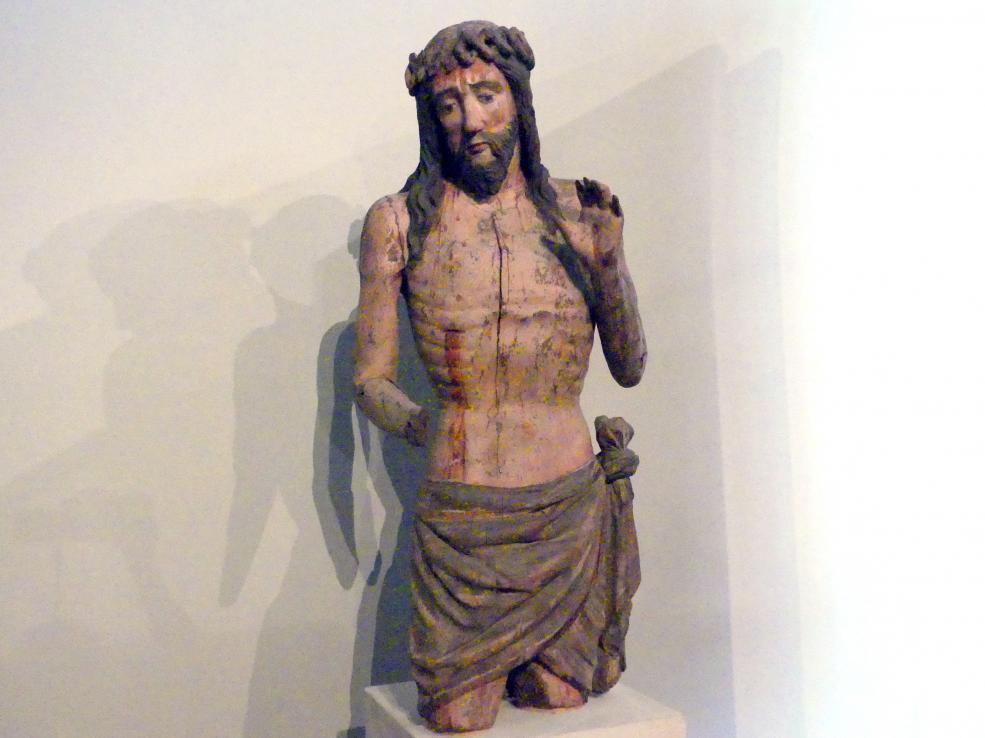 Christus als Schmerzensmann, Fragment, um 1430, Bild 2/4