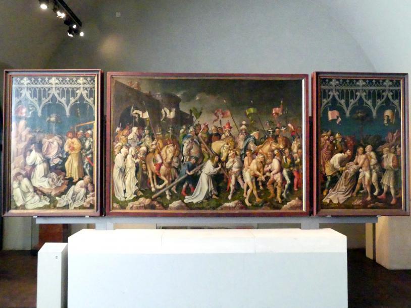 Gabriel Angler: Tafeln vom Hochaltar aus Kloster Tegernsee, 1444 - 1445